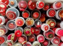 Botones coloreados de diversos tamaños Foto de archivo