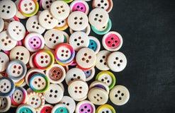 Botones coloreados multi Foto de archivo libre de regalías