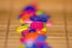 Botones coloridos Foto de archivo libre de regalías