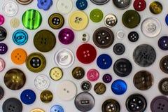 Botones de costura Imagenes de archivo