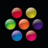 Botones de cristal Libre Illustration