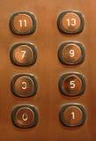 Botones de Evelator Imagenes de archivo