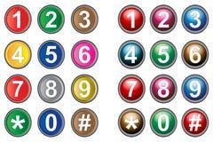 Botones de la célula Libre Illustration