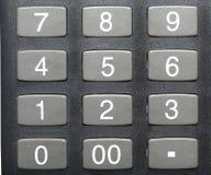 Botones de la calculadora imagen de archivo