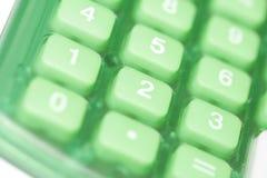 Botones de la calculadora Fotos de archivo