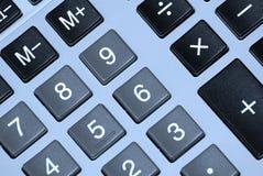 Botones de la calculadora. Foto de archivo