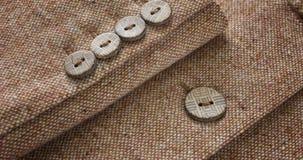 Botones de la chaqueta del traje fotos de archivo libres de regalías