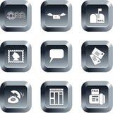 Botones de la comunicación Fotografía de archivo libre de regalías
