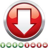 Botones de la flecha Foto de archivo libre de regalías