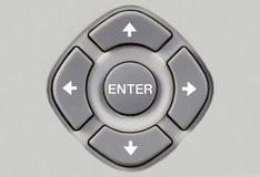Botones de la navegación Imagen de archivo libre de regalías