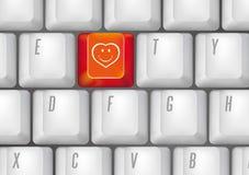 Botones de la sonrisa Fotografía de archivo libre de regalías