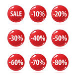 Botones de la venta