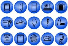 Botones de los aparatos electrodomésticos Fotos de archivo libres de regalías