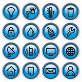 Botones de los utilitarios Foto de archivo