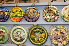 Botones de madera Foto de archivo libre de regalías