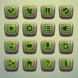 Botones de piedra