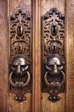 Botones de puerta Imagen de archivo libre de regalías
