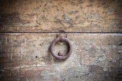 Botones de puerta decorativos Fotografía de archivo libre de regalías