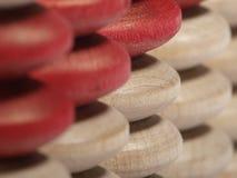 Botones del ábaco fotografía de archivo libre de regalías