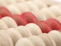 Botones del ábaco imagen de archivo