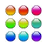 Botones del caramelo del ojo Fotos de archivo