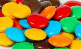Botones del chocolate Fotos de archivo libres de regalías