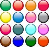 Botones del color libre illustration