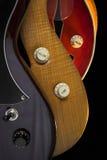 Botones del control de la guitarra Imagen de archivo libre de regalías