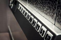 Botones del elevador fotografía de archivo libre de regalías