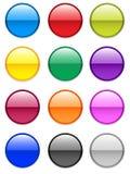 Botones del gel stock de ilustración