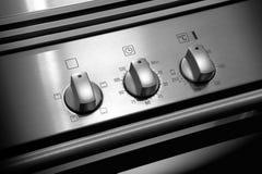 Botones del horno Imágenes de archivo libres de regalías