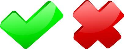 Botones del icono del Web Fotografía de archivo libre de regalías