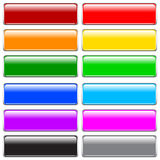 Botones del Internet Fotografía de archivo libre de regalías
