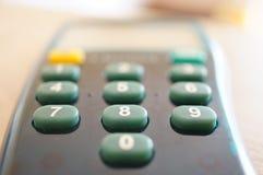 Botones del lector de tarjetas Imagen de archivo libre de regalías