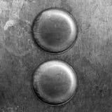 Botones del metal ilustración del vector