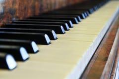 Botones del piano imagen de archivo libre de regalías