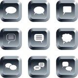 Botones del reclamo Imagen de archivo libre de regalías