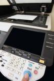 Botones del teclado de la copiadora del laser Fotos de archivo