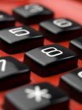 Botones del teléfono Fotografía de archivo libre de regalías