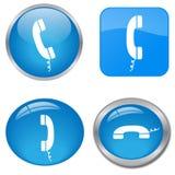 Botones del teléfono libre illustration