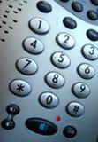 Botones del teléfono Foto de archivo libre de regalías