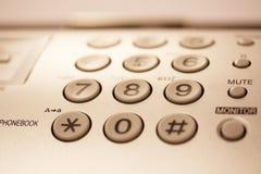 Botones del teléfono Imágenes de archivo libres de regalías