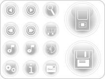 botones del vector 3D stock de ilustración