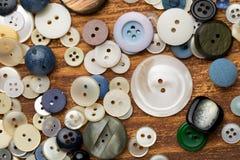 Botones del vintage Fotografía de archivo