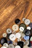 Botones del vintage Fotografía de archivo libre de regalías