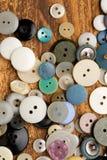 Botones del vintage Imagen de archivo libre de regalías