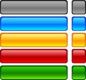 Botones del Web. Foto de archivo libre de regalías