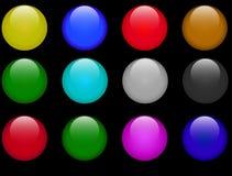 Botones del Web Imagen de archivo