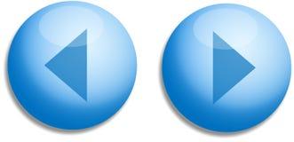 Botones del Web Imágenes de archivo libres de regalías
