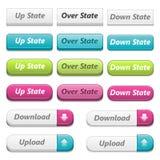 Botones del Web 3d